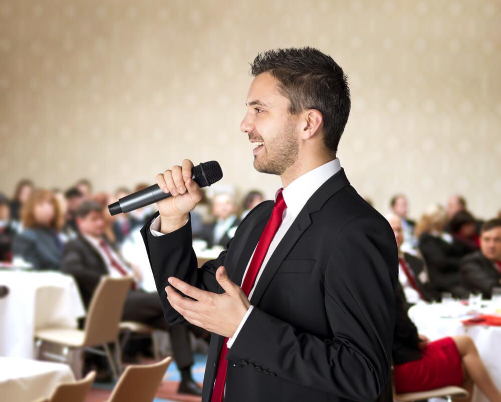 public speaking online training